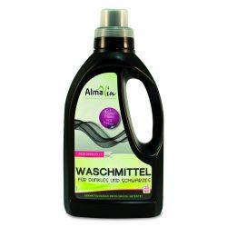 Öko folyékony mosószer koncentrátum sötét és fekete ruhákhoz-25 mosásra 750 ml Almawin