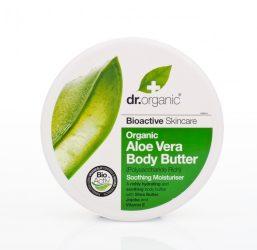 Dr. Organic Testápoló vaj bioaktív Aloe verával 200ml