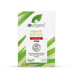 Dr. Organic Szappan bioaktív teafaolajjal 100 g