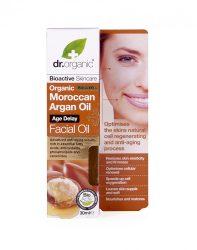 Dr. Organic Öregedésgátló arcápoló olaj marokkói bioaktív argánolajjal 30 ml