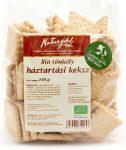 Bio tönköly háztartási keksz 200 g Natugold