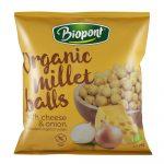 Biopont Bio Extrudált kölesgolyó, sajtos-hagymás ízesítésű 75 g