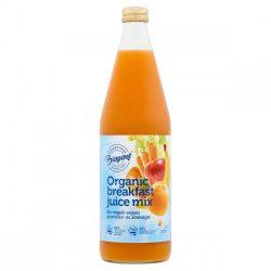 Biopont Bio Reggeli vegyes gyümölcslé répalével 750 ml