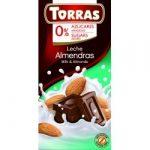 Torras Mandulás tejcsokoládé hozzáadott cukor nélkül 75 g