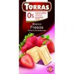 Torras Epres fehércsokoládé hozzáadott cukor nélkül 75 g