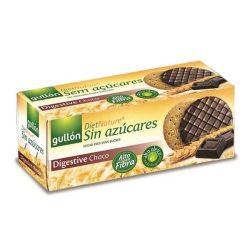Diabetikus teljes kiörlésű keksz étcsokoládé bevonattal 270 g Gullon