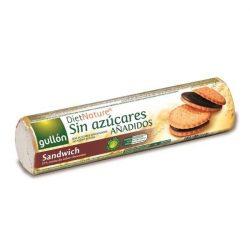 Gullon diabetikus szendvicskeksz csokoládé ízű krémmel töltve 250 g