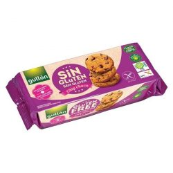 Gullon diabetikus és gluténmentes chip choco keksz 130g
