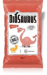 "Biopont Bio Kukoricás snack, ketchupos ""BioSaurus Babe"" 50 g"