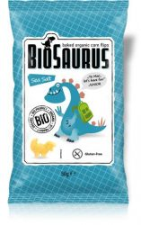 "Biopont Bio Kukoricás snack, tengeri sós ""BioSaurus Junior"" 50 g"
