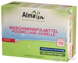 Öko gépi mosogatószer koncentrátum 112 alkalomra 2,8 kg Almawin