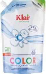 Öko Szenzitív folyékony mosószer színes és fehér ruhákhoz - 25 mosásra 1,5 l Klar