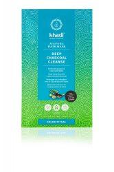DEEP CHARCOAL CLEANSE ayurvédikus hajpakolás 50 g Khadi