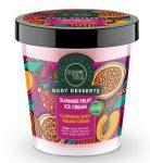 Tisztító testpeeling Nyári gyümölcsös jégkrém 450 ml Organic Shop