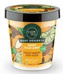 Bőrmegújító cukros testradír Mango Sugar 450 ml Organic Shop