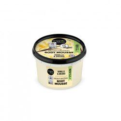 Testápoló mousse Bourbon vanília 250 ml Organic Shop
