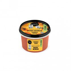 Bőrradír bio papayával és cukorral 250 ml Organic Shop