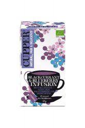 Bio Blackcurrant & Blueberry tea 50 g Cupper