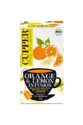 Bio Orange & Lemon tea 50 g Cupper