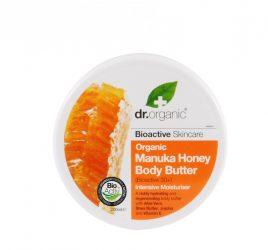 Testápoló vaj bio manuka mézzel 200 ml Dr.Organic