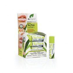 Ajakbalzsam bio teafaolajjal 5,7 ml Dr.Organic
