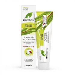 Fogkrém bio teafaolajjal 100 ml Dr.Organic