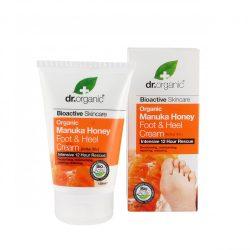 Láb- és sarokápoló bio manuka mézzel 125 ml Dr.Organic