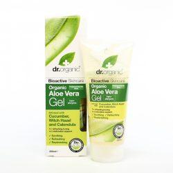Bio Aloe vera gél bio uborka kivonattal 200 ml Dr.Organic