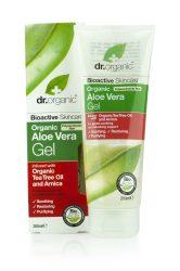 Bio Aloe vera gél bio teafa olajjal és árnikával 200 ml Dr.Organic