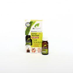 Körömápoló bio teafaolajjal 10 ml Dr.Organic