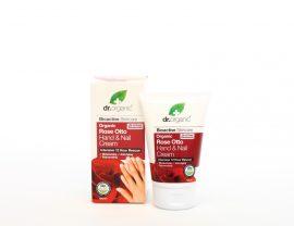 Kéz- és körömápoló krém bio damaszkuszi rózsaolajjal 125 ml Dr.Organic