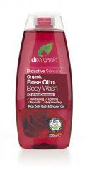 Tusfürdő bio damaszkuszi rózsaolajjal 250 ml Dr.Organic