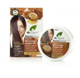 Regeneráló hajpakolás marokkói bio argánolajjal 200 ml Dr.Organic