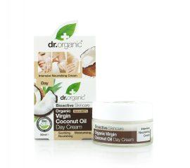 Nappali arcápoló krém bio szűz kókuszolajjal 50 ml Dr.Organic