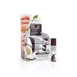 Ajakbalzsam bio szűz kókuszolajjal 5,7 ml Dr.Organic