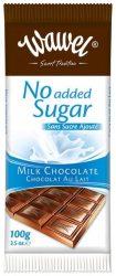 Tejcsokoládé hozzáadott cukor nélkül 100 g No Added