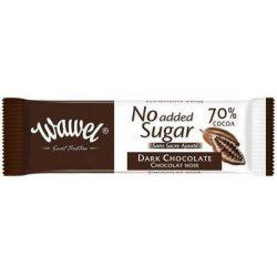 Étcsokoládé 70% hozzáadott cukor nélkül 30 g No Added