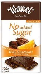Étcsokoládé Naranccsal hozzáadott cukor nélkül 100 g No Added