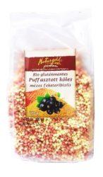 Bio gluténmentes puffasztott köles mézes feketeribizlis 110 g Naturgold