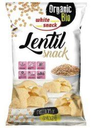 Bio lencse snack 45 g White Snack