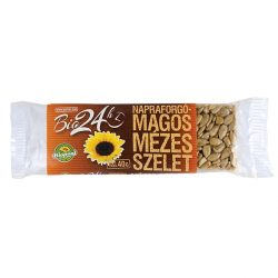 Bio Mézes szelet, napraforgós 40 g Biopont