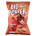 Bio Extrudált kukorica, valódi eperporral, gluténmentes (BIO POWER) 70 g Biopont