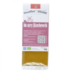 Bio Curry fűszerkeverék 20 g GreenMark