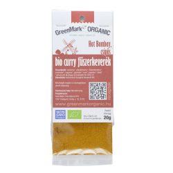 Bio Curry fűszerkeverék Hot Bombay, csípős 20 g GreenMark