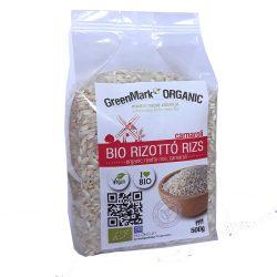 Bio Rizottó rizs, fehér 500 g GreenMark