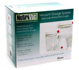 NUTRI VAC hosszanfriss vákuum ételtároló rendszer Naturgold