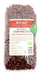 Bio tönköly tészta szarvacska teljes őrlésű 250 g Naturgold