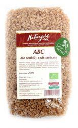 Bio tönköly tészta ABC 250 g Naturgold