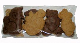 Bio tönköly mézeskalács keksz – mesés állatkák 100 g Naturgold