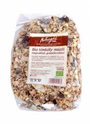 Bio tönköly müzli magvakkal, gyümölcsökkel 500 g   Naturgold